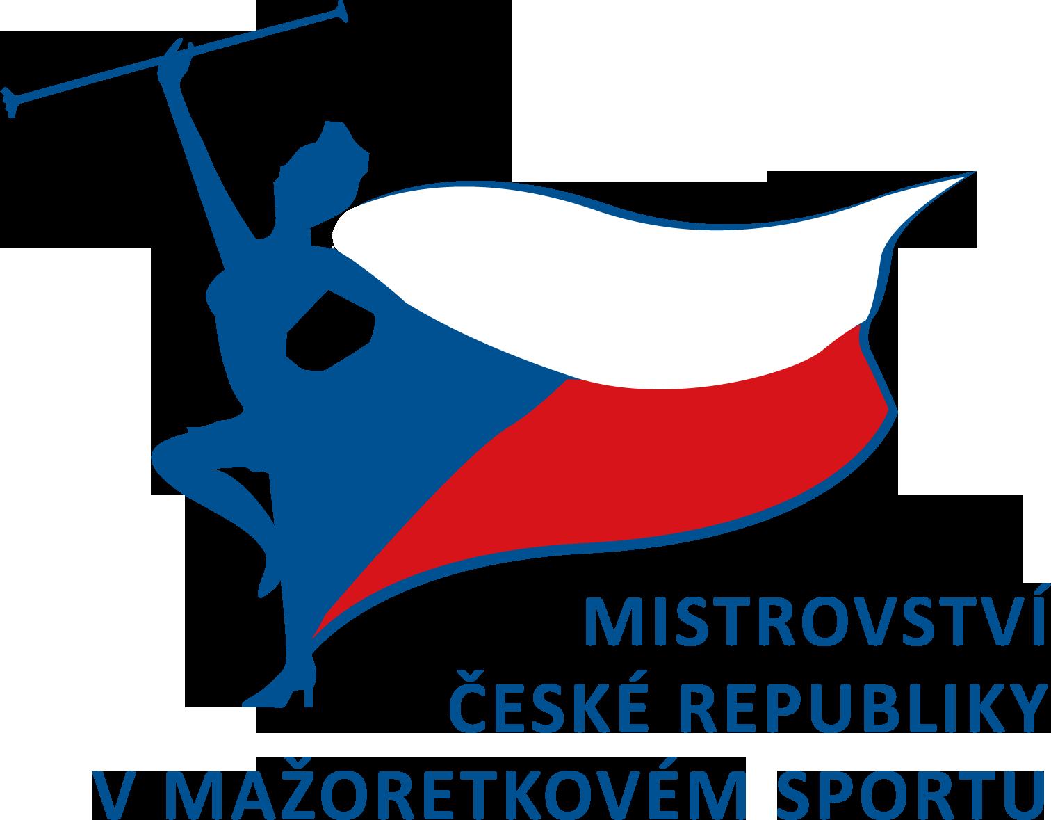 logo Mistrovství České republiky v mažoretkovém sportu