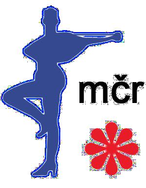 Staré logo Mistrovství České republiky v mažoretkovém sportu