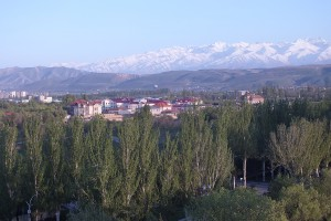Greetings from Bishkek, Kyrgyzstan (1)